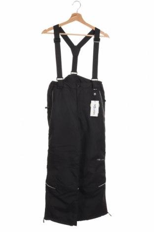 Детски панталон за зимни спортове Trollkids, Размер 13-14y/ 164-168 см, Цвят Черен, Полиестер, Цена 39,60лв.