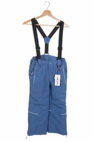Детски панталон за зимни спортове Trollkids, Размер 7-8y/ 128-134 см, Цвят Син, Полиестер, Цена 39,60лв.