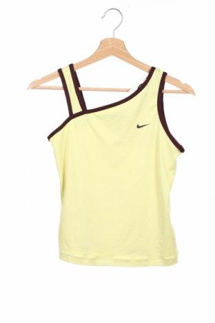 Детски потник Nike, Размер 11-12y/ 152-158 см, Цвят Жълт, Цена 12,48лв.