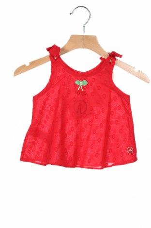 Детски потник Tutto Piccolo, Размер 18-24m/ 86-98 см, Цвят Червен, 100% памук, Цена 9,24лв.