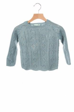 Детски пуловер Nanos, Размер 2-3y/ 98-104 см, Цвят Зелен, 43% акрил, 25% вълна, 17% други материали, 15% вълна, Цена 35,97лв.