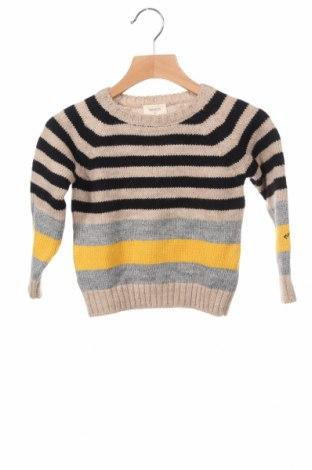 Детски пуловер Nanos, Размер 3-4y/ 104-110 см, Цвят Многоцветен, 35% вълна, 35% акрил, 30% други тъкани, Цена 39,27лв.
