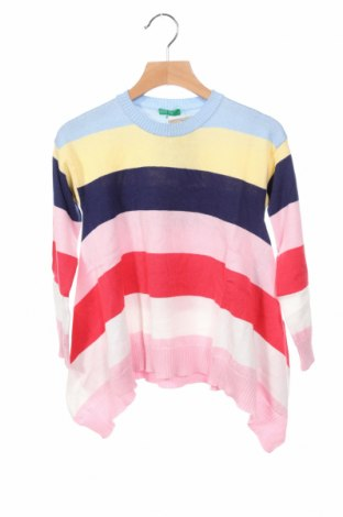 Dziecięcy sweter United Colors Of Benetton, Rozmiar 5-6y/ 116-122 cm, Kolor Kolorowy, 50% bawełna, 50%akryl, Cena 122,50zł