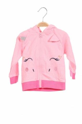 Παιδικό φούτερ Crafted, Μέγεθος 9-12m/ 74-80 εκ., Χρώμα Ρόζ , Βαμβάκι, Τιμή 16,42€