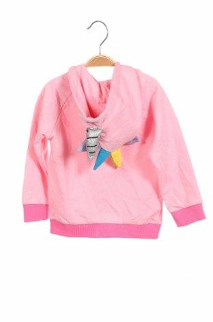 Детски суичър Crafted, Размер 18-24m/ 86-98 см, Цвят Розов, Памук, Цена 31,85лв.