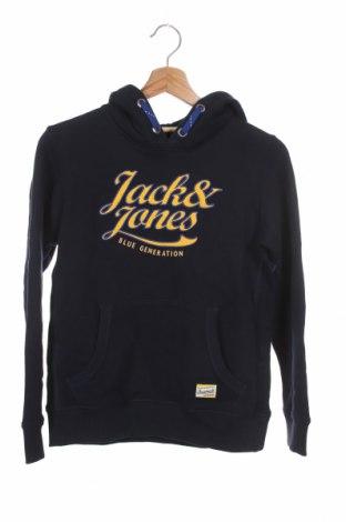 Детски суичър Jack & Jones, Размер 11-12y/ 152-158 см, Цвят Син, 100% памук, Цена 41,30лв.
