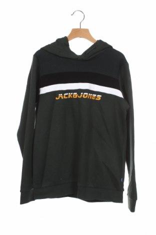 Детски суичър Jack & Jones, Размер 11-12y/ 152-158 см, Цвят Зелен, 80% памук, 20% полиестер, Цена 44,25лв.