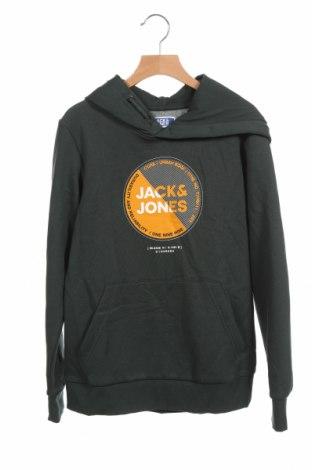 Παιδικό φούτερ Jack & Jones, Μέγεθος 11-12y/ 152-158 εκ., Χρώμα Πράσινο, 65% βαμβάκι, 35% πολυεστέρας, Τιμή 17,68€