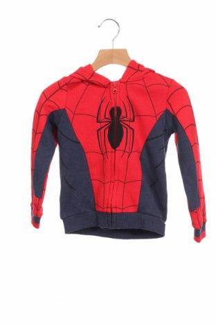 Детски суичър Marvel, Размер 2-3y/ 98-104 см, Цвят Червен, 65% полиестер, 35% памук, Цена 35,10лв.