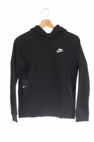 Детски суичър Nike, Размер 10-11y/ 146-152 см, Цвят Черен, 80% памук, 20% полиестер, Цена 56,88лв.