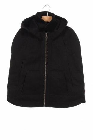 Детско палто Billieblush, Размер 6-7y/ 122-128 см, Цвят Черен, 90% полиестер, 7% вискоза, 3% еластан, Цена 35,60лв.