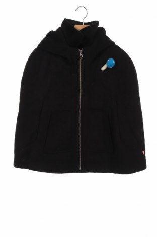 Детско палто Billieblush, Размер 6-7y/ 122-128 см, Цвят Черен, 90% полиестер, 7% вискоза, 3% еластан, Цена 36,80лв.