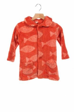 Παιδική ζακέτα Cotton Fish, Μέγεθος 18-24m/ 86-98 εκ., Χρώμα Πορτοκαλί, Πολυεστέρας, Τιμή 23,71€