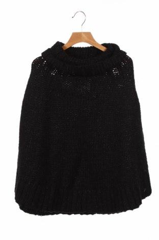 Детско пончо Witchery, Размер 8-9y/ 134-140 см, Цвят Черен, 33% акрил, 29% полиамид, 17% вълна, Цена 30,87лв.