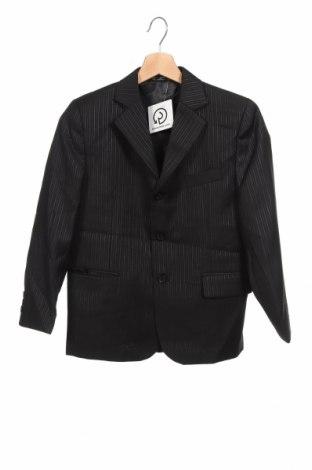 Детско сако, Размер 11-12y/ 152-158 см, Цвят Черен, Полиестер, Цена 7,35лв.