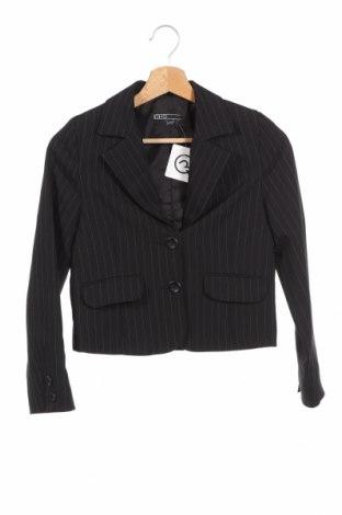 Детско сако Whoopi, Размер 10-11y/ 146-152 см, Цвят Черен, 92% полиестер, 7% еластан, 1% други тъкани, Цена 6,30лв.