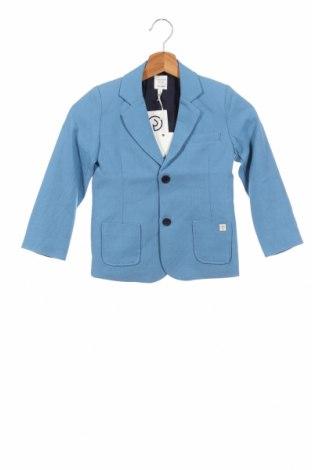 Детско сако Carrement Beau, Размер 4-5y/ 110-116 см, Цвят Син, Памук, Цена 40,12лв.