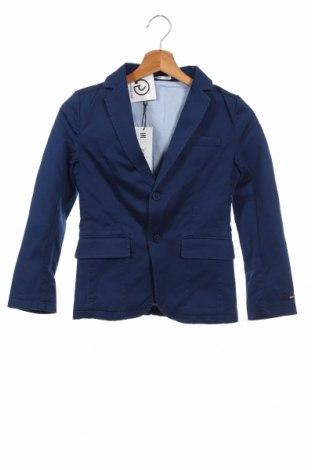 Παιδικό σακάκι Hugo Boss, Μέγεθος 8-9y/ 134-140 εκ., Χρώμα Μπλέ, 98% βαμβάκι, 2% ελαστάνη, Τιμή 57,37€
