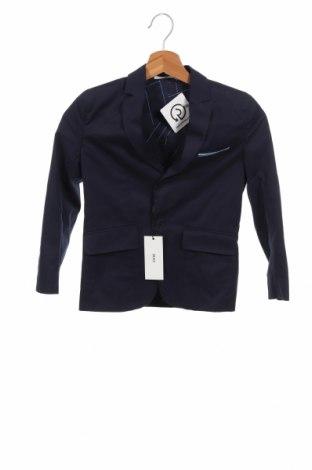 Παιδικό σακάκι Hugo Boss, Μέγεθος 6-7y/ 122-128 εκ., Χρώμα Μπλέ, Βαμβάκι, Τιμή 53,27€