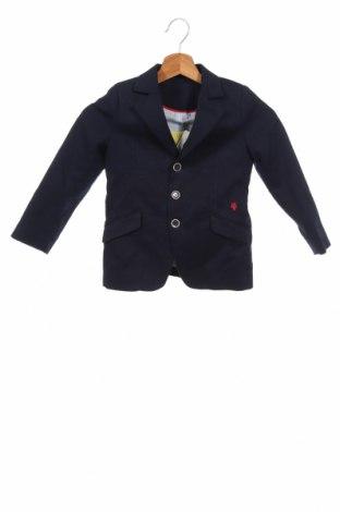 Детско сако Pili Carrera, Размер 3-4y/ 104-110 см, Цвят Син, 98% памук, 2% еластан, Цена 70,85лв.