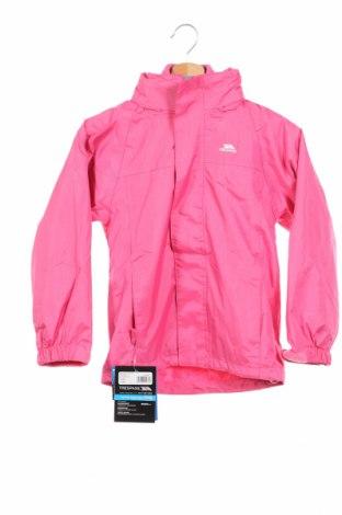 Детско спортно яке Trespass, Размер 6-7y/ 122-128 см, Цвят Розов, Полиестер, Цена 62,30лв.