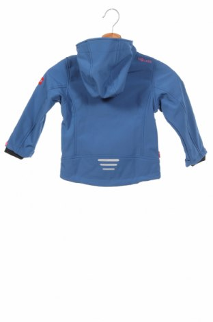 Детско спортно яке Trollkids, Размер 2-3y/ 98-104 см, Цвят Син, 94% полиестер, 6% еластан, Цена 60,52лв.