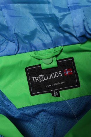 Детско спортно яке Trollkids, Размер 6-7y/ 122-128 см, Цвят Зелен, Полиестер, Цена 58,80лв.
