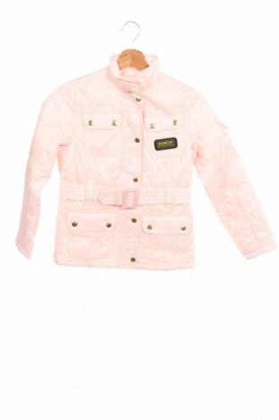 Детско яке Barbour, Размер 6-7y/ 122-128 см, Цвят Розов, Цена 80,62лв.