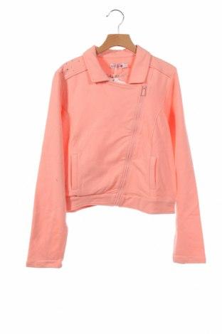 Детско яке Boboli, Размер 12-13y/ 158-164 см, Цвят Розов, 95% памук, 5% еластан, Цена 43,45лв.