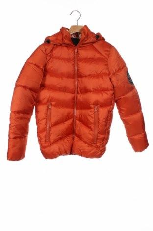 Παιδικό μπουφάν Jack & Jones, Μέγεθος 10-11y/ 146-152 εκ., Χρώμα Πορτοκαλί, Πολυαμίδη, Τιμή 42,27€