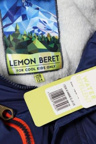 Детско яке Lemon Beret, Размер 7-8y/ 128-134 см, Цвят Син, Полиестер, Цена 59,25лв.