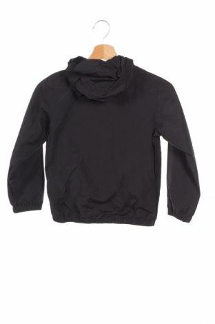 Детско яке Lyle & Scott, Размер 7-8y/ 128-134 см, Цвят Черен, 55% памук, 45% полиамид, Цена 81,95лв.