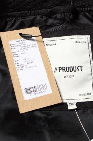 Детско яке Produkt by Jack & Jones, Размер 6-7y/ 122-128 см, Цвят Черен, Полиестер, Цена 51,75лв.