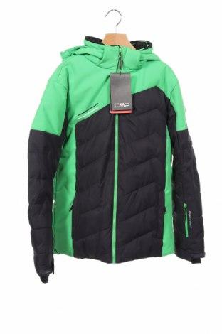 Dziecięca zimowa kurtka sportowa CMP, Rozmiar 12-13y/ 158-164 cm, Kolor Zielony, Poliester, Cena 322,50zł