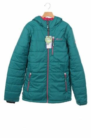 Детско яке за зимни спортове Trollkids, Размер 15-18y/ 170-176 см, Цвят Зелен, Полиестер, Цена 45,15лв.