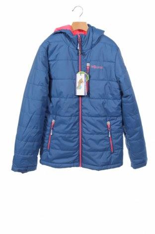 Детско яке за зимни спортове Trollkids, Размер 12-13y/ 158-164 см, Цвят Син, Полиестер, Цена 45,15лв.