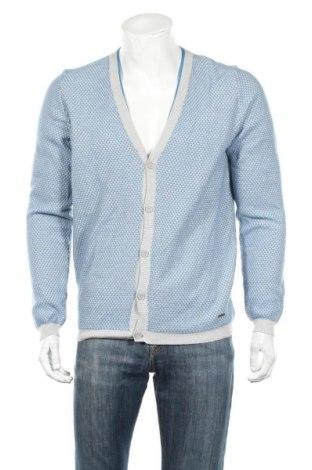 Ανδρική ζακέτα DKNY, Μέγεθος L, Χρώμα Μπλέ, 100% βαμβάκι, Τιμή 45,88€