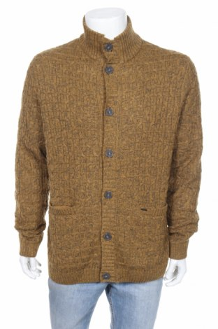 Мъжка жилетка Only & Sons, Размер L, Цвят Жълт, 50% акрил, 50% памук, Цена 59,00лв.
