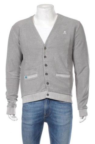 Мъжка жилетка Scalpers, Размер M, Цвят Сив, 100% памук, Цена 86,00лв.
