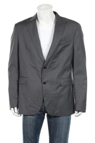 Ανδρικό σακάκι Tommy Hilfiger, Μέγεθος XL, Χρώμα Γκρί, Μαλλί, Τιμή 60,98€