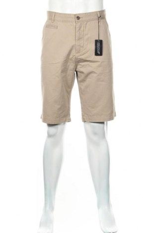 Мъжки къс панталон Authentic Clothing Company, Размер XL, Цвят Бежов, 100% памук, Цена 35,36лв.