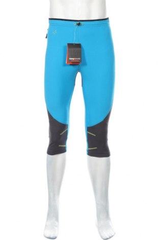 Мъжки спортен клин Trangoworld, Размер S, Цвят Син, 91% полиестер, 9% еластан, Цена 39,50лв.