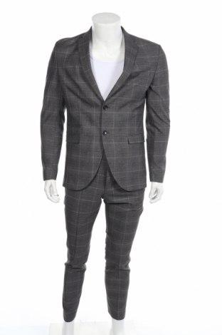 Ανδρικό κοστούμι Selected Homme, Μέγεθος M, Χρώμα Πολύχρωμο, 62% πολυεστέρας, 34% βισκόζη, 4% ελαστάνη, Τιμή 71,46€