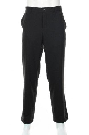 Мъжки панталон Andrews, Размер XL, Цвят Черен, 54% вълна, 42% вискоза, 4% еластан, Цена 21,84лв.