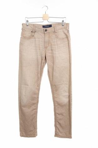 Мъжки панталон Atelier GARDEUR, Размер M, Цвят Бежов, 98% памук, 2% еластан, Цена 9,71лв.