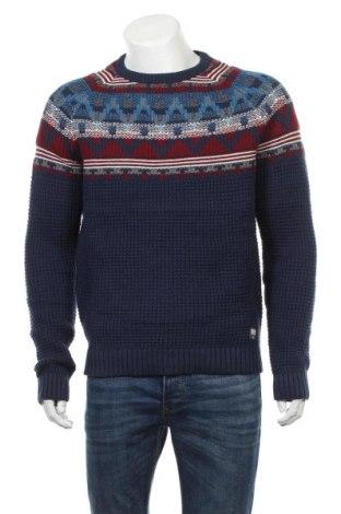 Pánsky sveter  S.Oliver, Veľkosť L, Farba Modrá, 55% bavlna, 35% polyester, 10% polyamide, Cena  45,88€