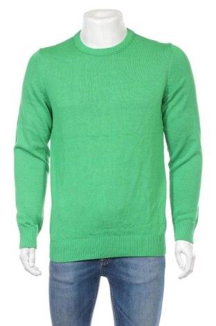 Pánsky sveter  S.Oliver, Veľkosť L, Farba Zelená, Bavlna, Cena  35,57€