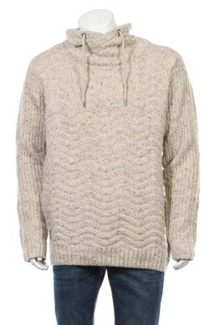 Pánsky sveter  S.Oliver, Veľkosť XL, Farba Béžová, 50% polyester, 25% Polyacryl, 25% vlna, Cena  66,49€
