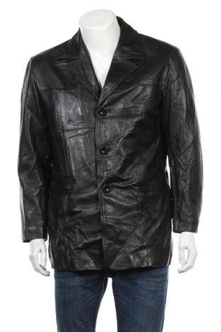 Мъжко кожено сако Aviatrix, Размер XL, Цвят Черен, Естествена кожа, Цена 19,95лв.