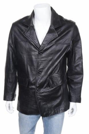 Мъжко кожено яке, Размер M, Цвят Кафяв, Естествена кожа, Цена 15,50лв.